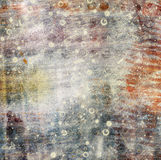 Abstract background in the style of mixed media with c Stock Photography