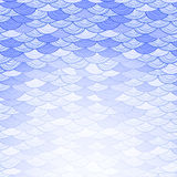 Abstract Background with Stylized Waves Royalty Free Stock Photo