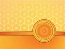 Abstract background with summer theme Stock Image