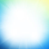 Abstract background with sun beam Stock Photo