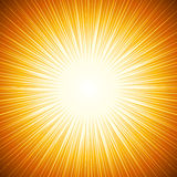 Abstract background of sun beam. Illustration Stock Image