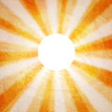 Abstract background with the sun Royalty Free Stock Photo