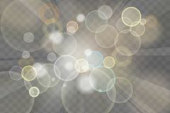 Abstract background with sun rays and glitters on transparent ch. Equered background royalty free illustration