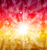 Abstract background with sun rays Royalty Free Stock Images