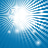 Abstract background with sun rays Royalty Free Stock Photography