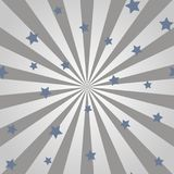 Abstract background with sun rays and stars. Vector. Abstract background with sun rays and stars. Vector Royalty Free Stock Images