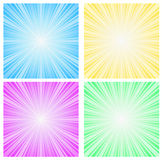 Abstract background sunbeam Stock Photos