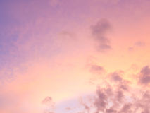 Abstract background : sunlight cloud and sky in evening. Day stock photo