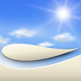 Abstract background sunny Royalty Free Stock Image