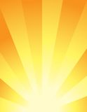 Abstract Background - Sunrise Stock Image