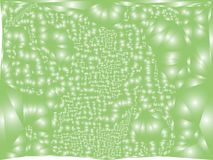 Abstract background with surface curved like a lot of bubbles. Bumpy texture. Vector clip art Royalty Free Stock Images