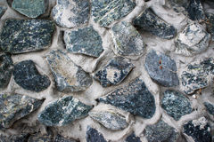 Abstract background of the surface stones pebble blue color Stock Photo