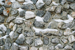 Abstract background of the surface stones pebble blue color Royalty Free Stock Photography