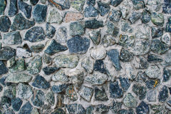 Abstract background of the surface stones pebble blue color Stock Photography