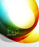 Abstract background, swirl wave line template Royalty Free Stock Photos