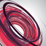 Abstract background, swirling lines, pink vector. Illustration Stock Photography