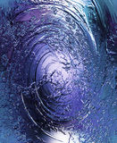 Abstract background with swirling movement pattern, color background. Glass effect. Royalty Free Stock Photography