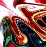Abstract background with swirls Stock Photo