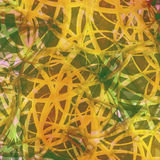 Abstract Background. Tangled Leaves. Irish Batik Colors. Vector. Stock Photography