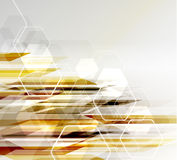 Abstract Background in techno style Stock Photo