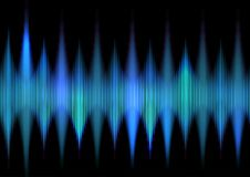 Abstract techno waves background. Abstract background with techno waves design Stock Photo