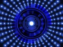 abstract background technology επίσης corel σύρετε το διάνυσμα απεικόνισης Διανυσματική απεικόνιση