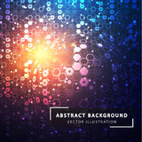 abstract background technology Φουτουριστικό τεχνολογικό ύφος Στοκ Φωτογραφίες