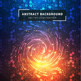 abstract background technology Φουτουριστικό τεχνολογικό ύφος διανυσματική απεικόνιση