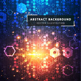 abstract background technology Φουτουριστικό τεχνολογικό ύφος ελεύθερη απεικόνιση δικαιώματος