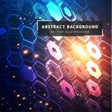 abstract background technology Φουτουριστικό τεχνολογικό ύφος απεικόνιση αποθεμάτων