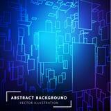 abstract background technology Φουτουριστικό τεχνολογικό ύφος Στοκ Φωτογραφία