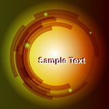 Abstract Background 4. Abstract technology colored circle and text. Vector illustration Royalty Free Stock Photo