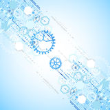 Abstract background  technology communication concept. Royalty Free Stock Photography