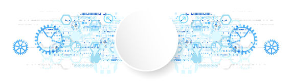 Abstract background  technology communication concept. Royalty Free Stock Images