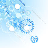 Abstract background  technology communication concept. Royalty Free Stock Image