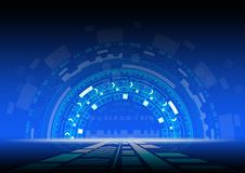 Abstract background Technology design innovation concept. Vector illustration royalty free illustration
