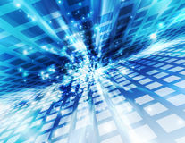 Abstract background. Technology digital cyberspace Royalty Free Stock Photo