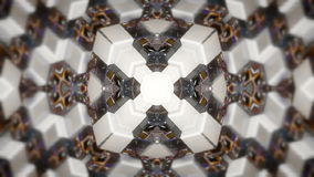 Abstract background with technology kaleidoscope stock video