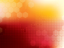 Abstract background technology Stock Image