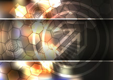 Abstract background, technology theme illustration Royalty Free Stock Image