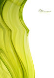 Abstract background template. Green and white abstract background template Stock Image