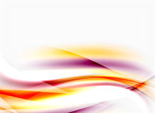 Abstract background template. Abstract background, colorful shiny blurred lines with light effects Royalty Free Stock Images