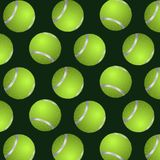 Abstract background of tennis balls Stock Photo