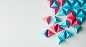 Abstract background. Abstract tetrahedron background. copy space available. usefull for business cards and web Stock Photo