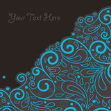 Abstract background with text field Royalty Free Stock Photos