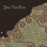 Abstract background with text field Royalty Free Stock Photography