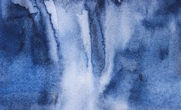 Abstract contemporary fresh  background on a textural surface in blue tones. Unique background stock illustration