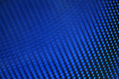 Abstract Background Texture. Blue abstract background, perforated metal plate Stock Photography