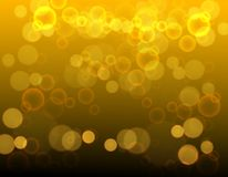 Abstract Background Texture bokeh Gold black. Design vector illustration