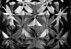 Abstract background or texture detail of wall glass, royalty free stock photo